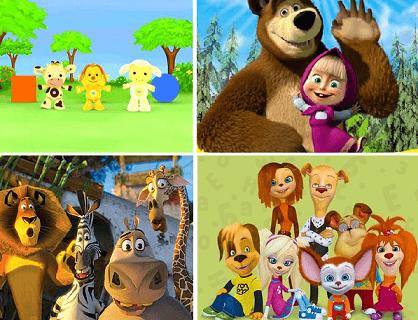 Интересные персонажи мультфильмов