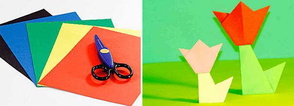 Оригами для начинающих детей 8 лет 2 класса самое легкое