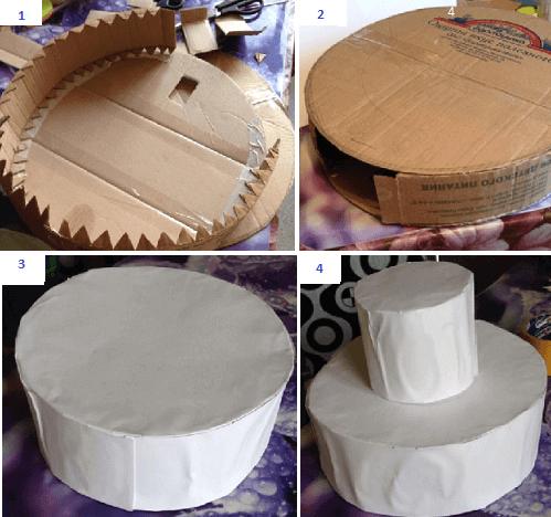 Правила сбора каркаса для торта