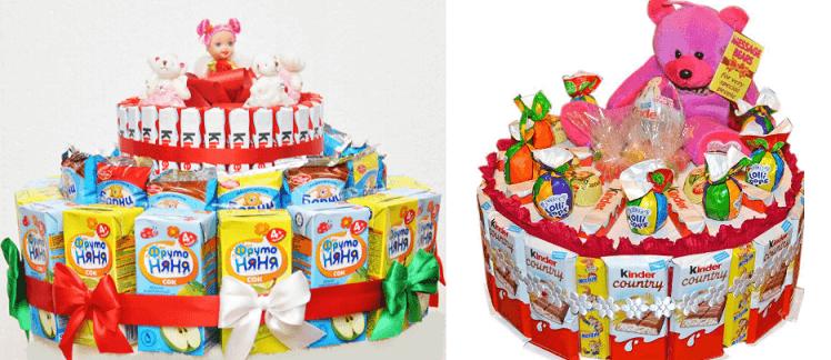 Выпечка тортов для детей