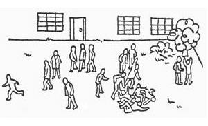 Конфликт людей