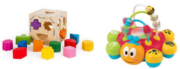 Яркие игрушки для развития детей