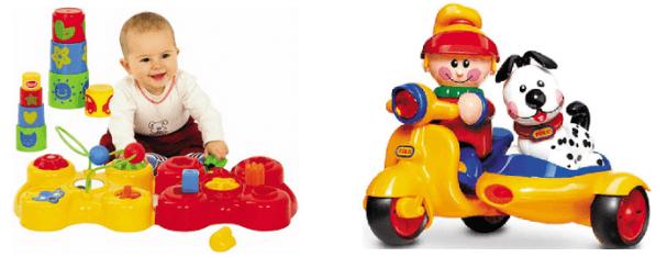 Формочки и машинка для ребенка