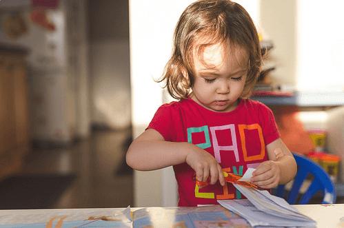 Частое моргание у ребенка