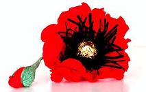 Склеивание цветка