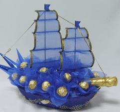 Образец для собрания корабля