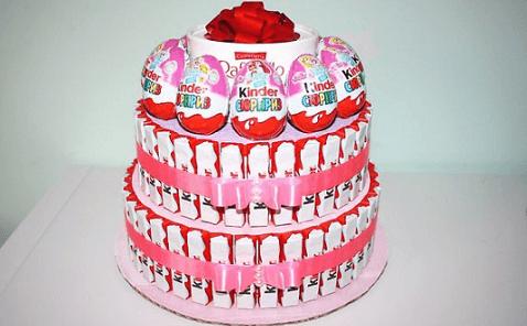 Приготовление торта для детей
