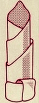 Пример сбора салфеток