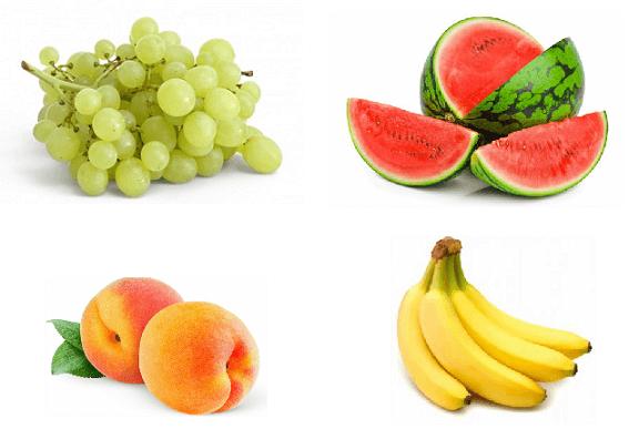 Содержание углеводов в фруктах