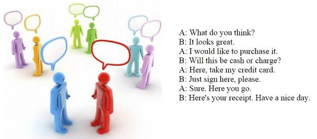 Составление диалога